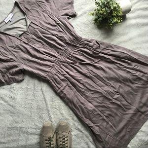 5a4e59cc7a9b Piper   Scoot Embroider Tie Neck Modest Boho Dress